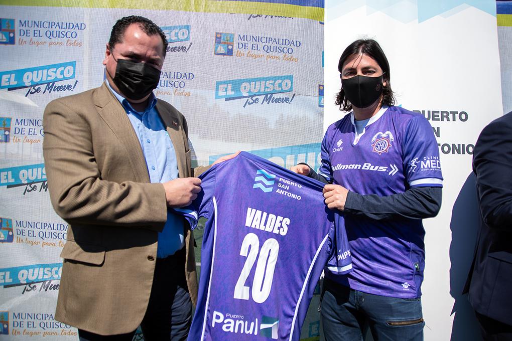San Antonio Unido se potencia de cara al Campeonato Segunda con Jaime Valdés